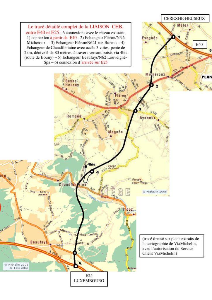 Carte du tracé - R Canfin